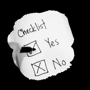 checklist-blob