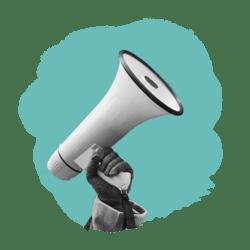megaphone_blob-icon